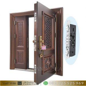 Model Pintu Rumah Mewah Minimalis Modern Kayu Jati