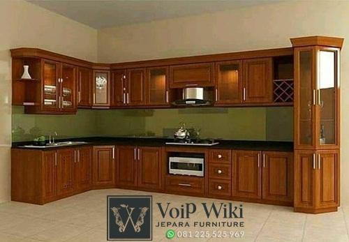 kitchen set desain minimalis sudut