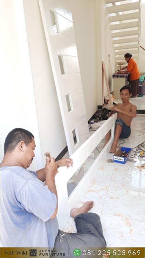 pemasangan pintu rumah di malang
