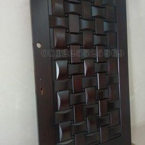 Model Pintu Anyaman Bambu