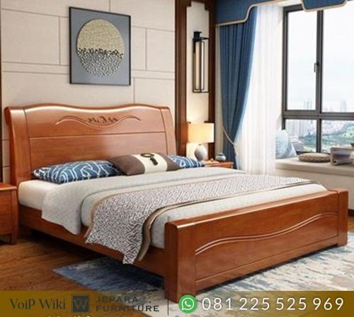 Model Tempat Tidur Minimalis Masakini Jati Kokoh