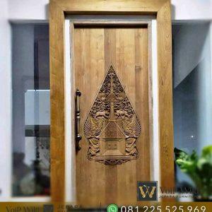 pintu minimalis kayu