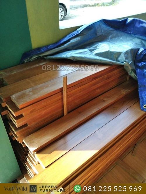 plafon kayu jati super