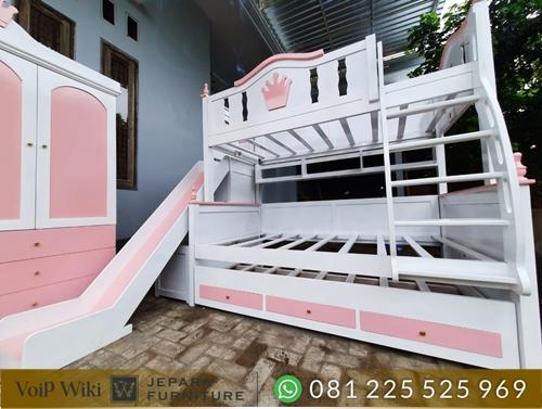 tempat tidur minimalis tingkat susunan rapi