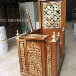 mimbar minimalis masjid