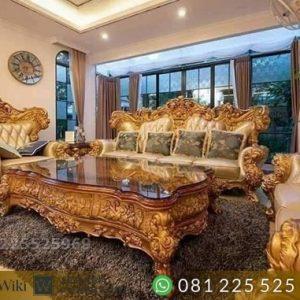 Model Kursi Tamu Luxury Jati Uki Jepara