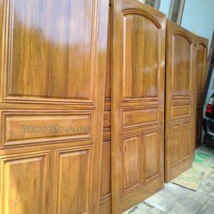 Pintu Kamar Kayu Jati Mewah Furniture Jepara