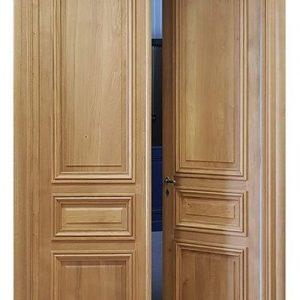 Model Pintu Rumah Utama Minimalis Kupu Tarung Produk Jati Jepara