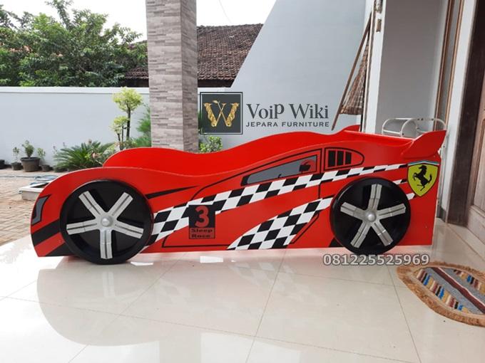 Tempat Tidur Mobil Anak Pecinta Otomotif