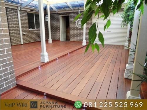 Lantai Kayu Jati Flooring Mewah Terbaru 3