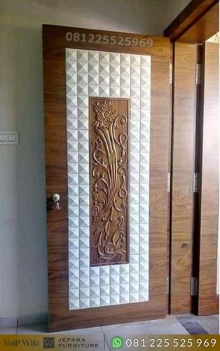Pintu Kamar Jati Minimalis Furniture Jepara
