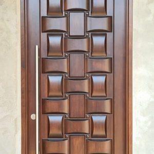 Kusen Pintu Minimalis Anyaman