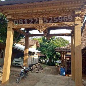 Rumah Joglo Minimalis Ukir Kayu Jati Jepara