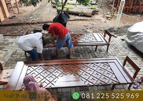 Gambar Rangka Daun Pintu Nabawi Untuk Tempat Ukiran Tempel Kuningan