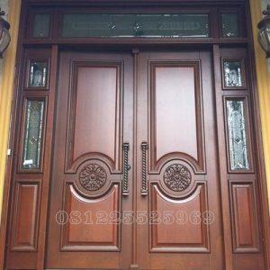 Pintu Minimalis Ukir