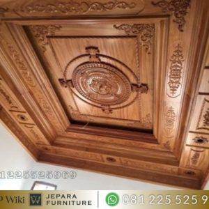Plafon Kayu Klasik