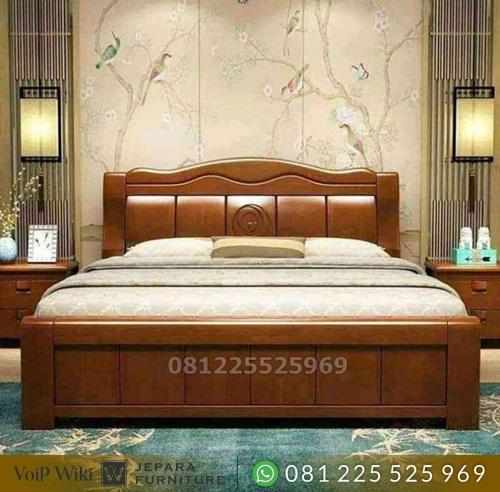 Tempat Tidur Minimalis Jati Balok Terbaik Jepara