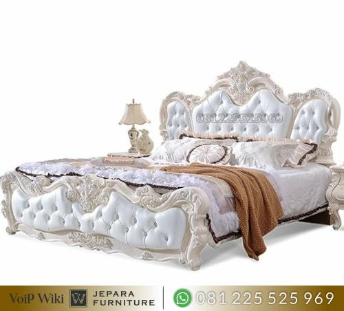 Set Tempat Tidur Mewah Ukir Jati Jepara