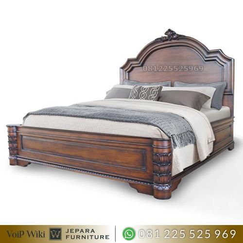 Tempat Tidur Dipan Jati Super Minimalis Klasik