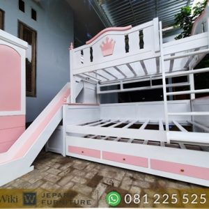 tempat tidur tingkat tingkat minimalis susunan rapi