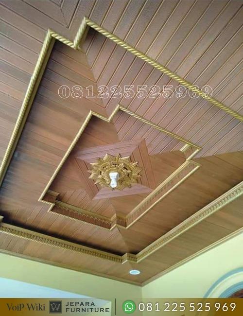 Plafon Atap Kayu Jati