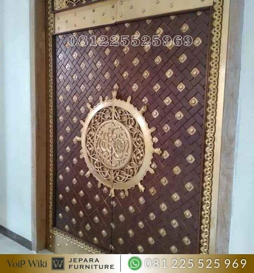 Pintu Masjid Nabawi Madinah