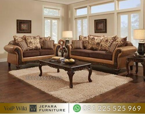 Sofa Kursi Tamu Mewah Klasik Eropa