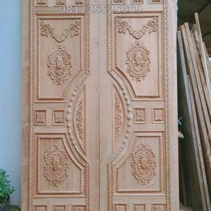 Pintu Ukir kupu tarung Mewah Asli Jepara