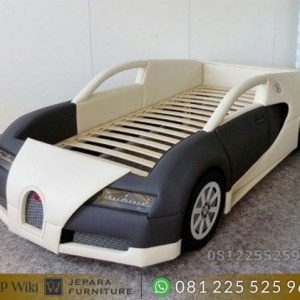 Dipan Tempat Tidur Anak Model Mobil Bugatti