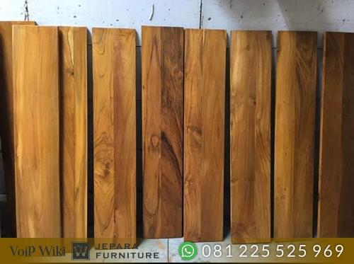 papan lantai kayu jati